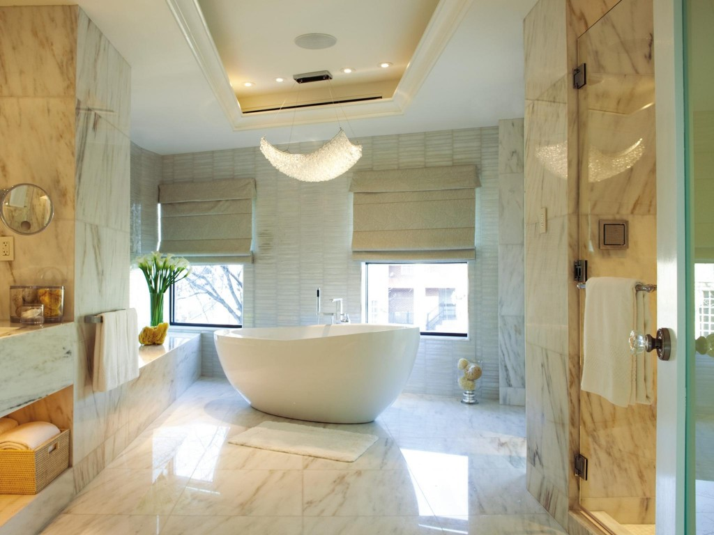 Marble Flooring in Bathrooms