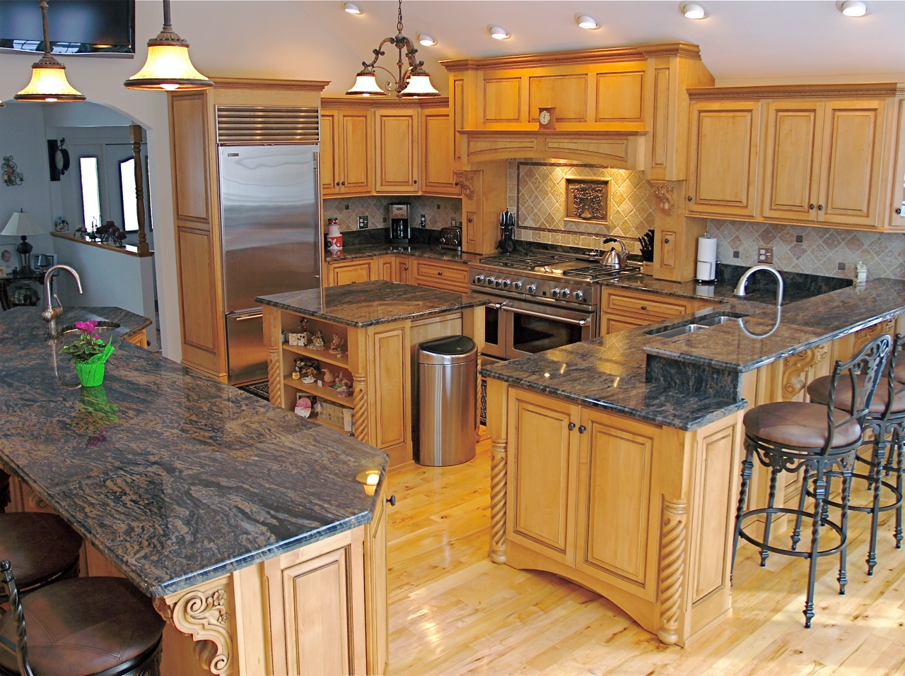 saura for contemporary awesome dutt stones kitchen best to granite countertop countertops glue v how