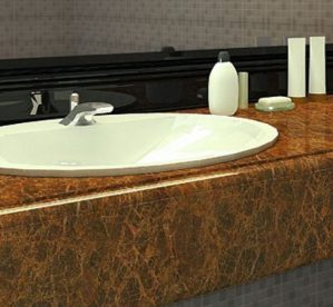 5 Beautiful Marble Stone Colours for Vanity Units
