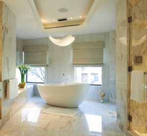 Pros and Cons of Marble Flooring in Bathrooms