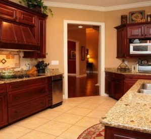 What Granite Countertop Looks Best With Wood Cabinets